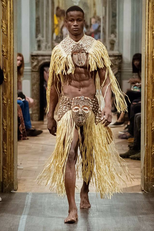 Hamidoe / Men Universe Europe / Belgique @ Paris Fashion Show