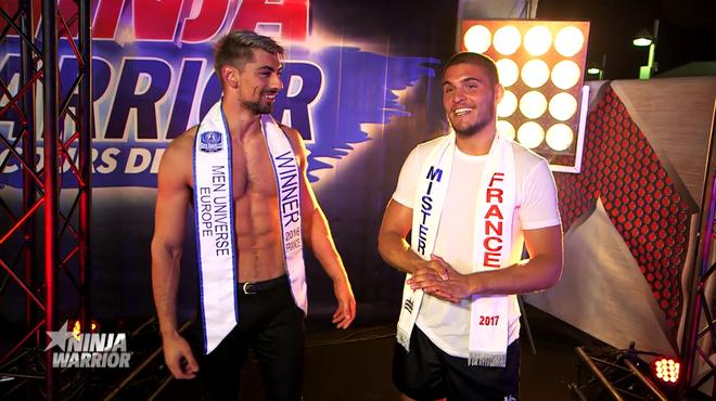 TF1 / Julien / Men Universe Europe / France @ Ninja Warrior